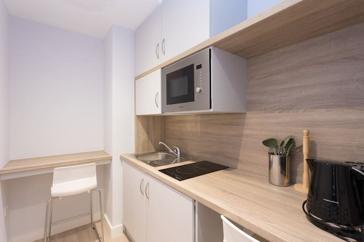 Studio Apartments - Wheelchair accessible standard