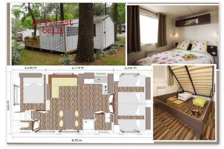 mobil-home camping 4* - Saint-Brevin-les-Pins