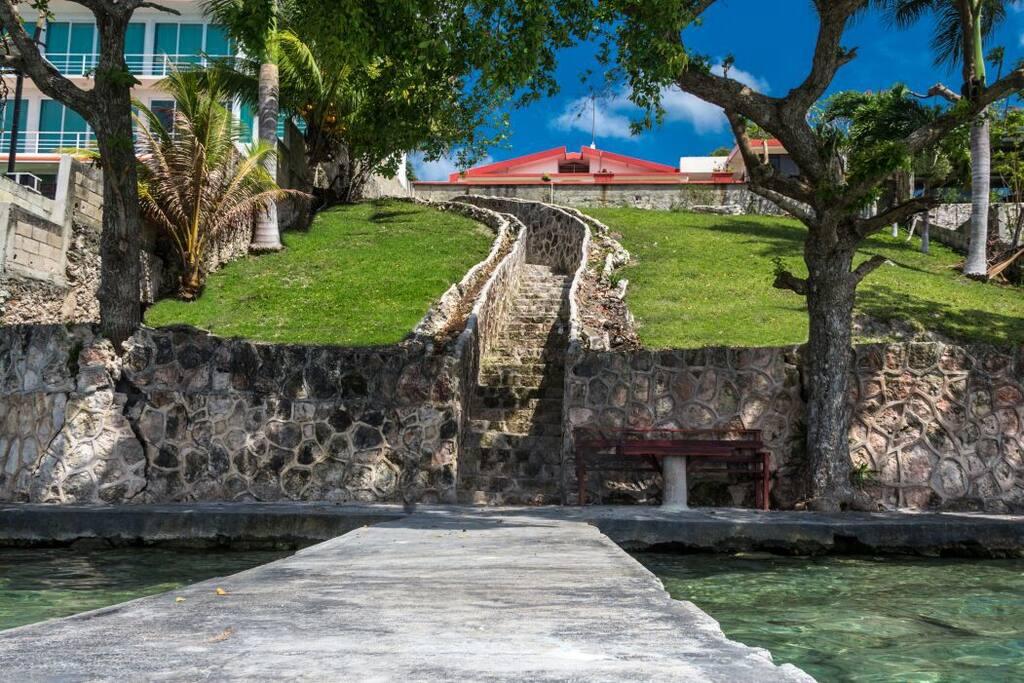 Sweethome bacalar casa en la laguna maisons louer - Magnifique maison avec vue la laguna beach ...