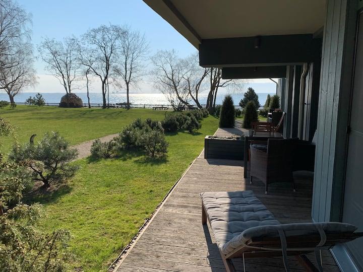 Lagoon studio with terrace!