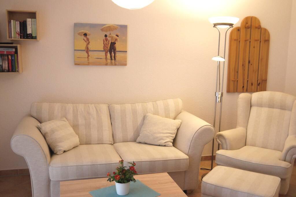 App sonnenblume 200 m zum strand appartamenti in for Ohrensessel tutti