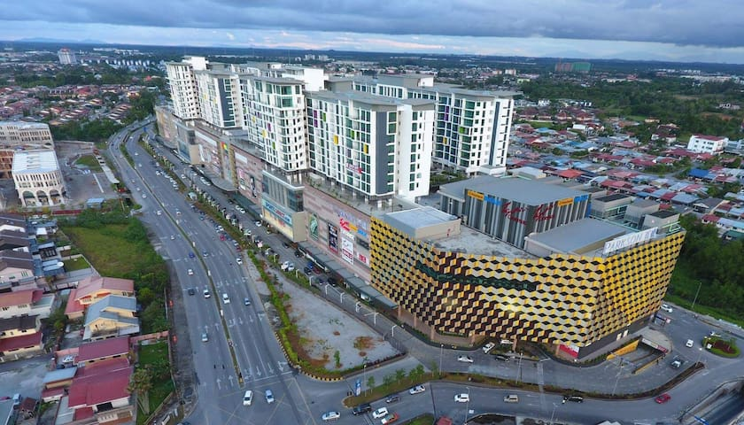 Loft @ VivaCity Megamall (3BR&2BTH) - Kuching - Çatı Katı