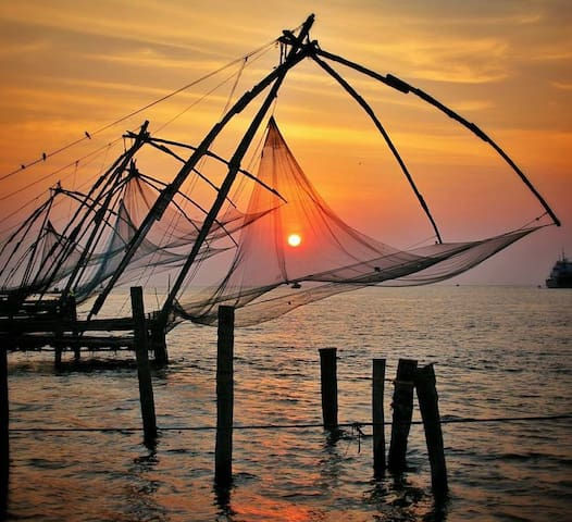 Stay & Fort Kochi Sightseeing - All Inclusive