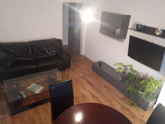 Moderne Wohnung  zentral in Nürnberg. Neues Bad!