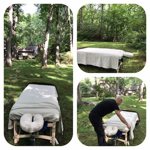 Massage  in tranquil setting By Appointment