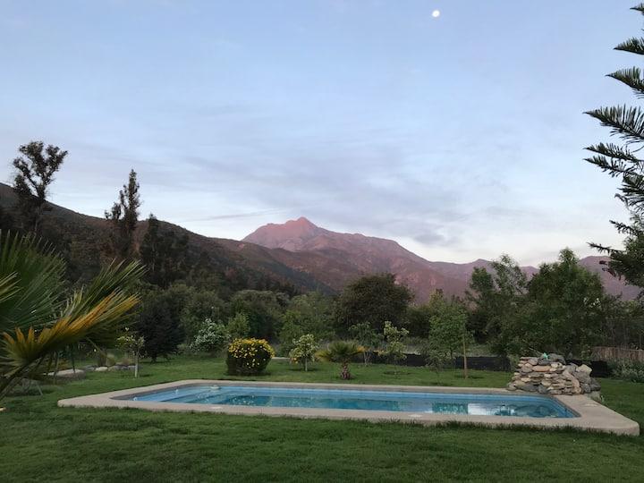 Increíble casa en Olmue para familia y descanso