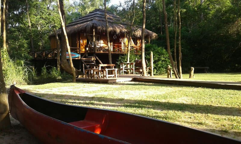 Cabaña en el Delta, Nenufar - San Fernando  - Casa
