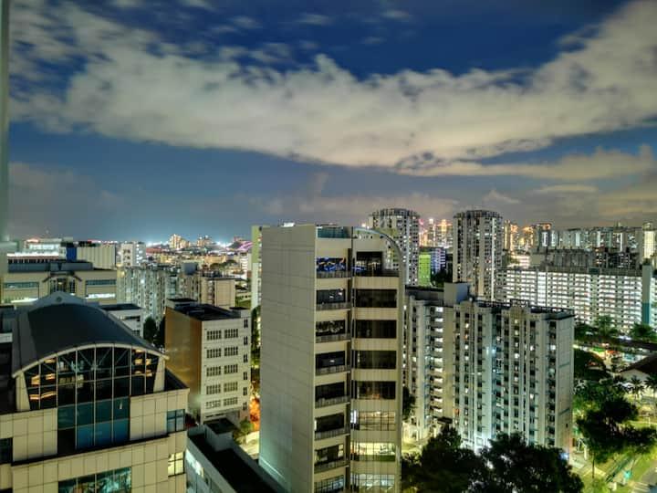 Private Room-Panoramic View / Sky Park / near MRT