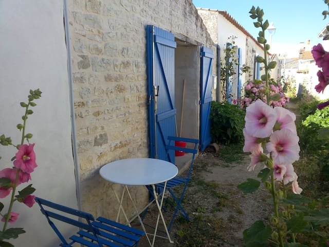 Charming studio in the heart of the old town - Saint-Denis-d'Oléron - Rumah