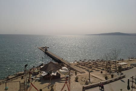 Apartment at the beach in Balchik (one room)