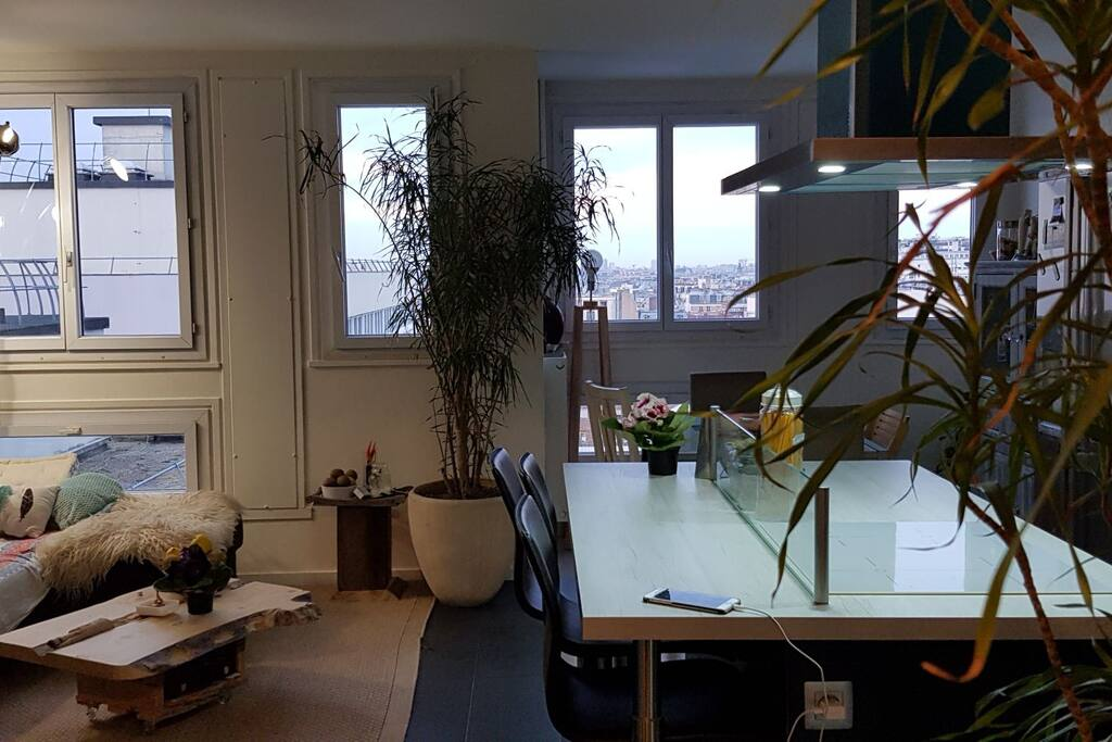 le salon cuisine