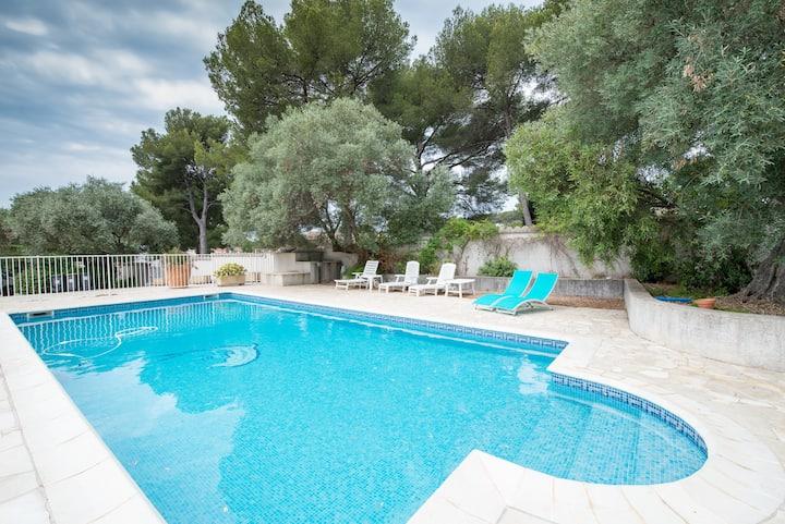 A villa for 2 in Sanary...