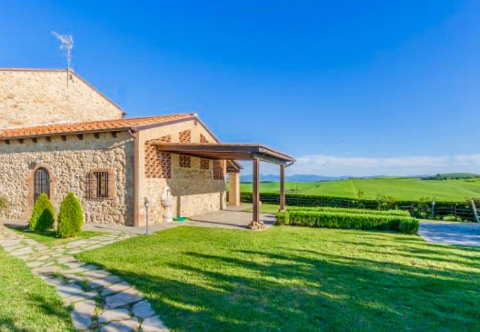 Casa di volpino flats for rent in volterra tuscany italy for Casa volterra