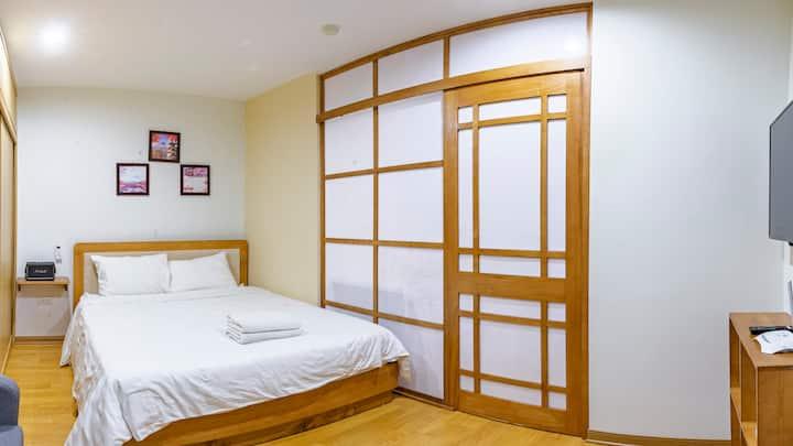 Căn hộ 1 ngủ siêu xinh xắn Japanese style