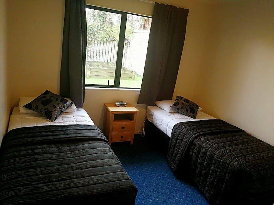 downstairs bedrooms