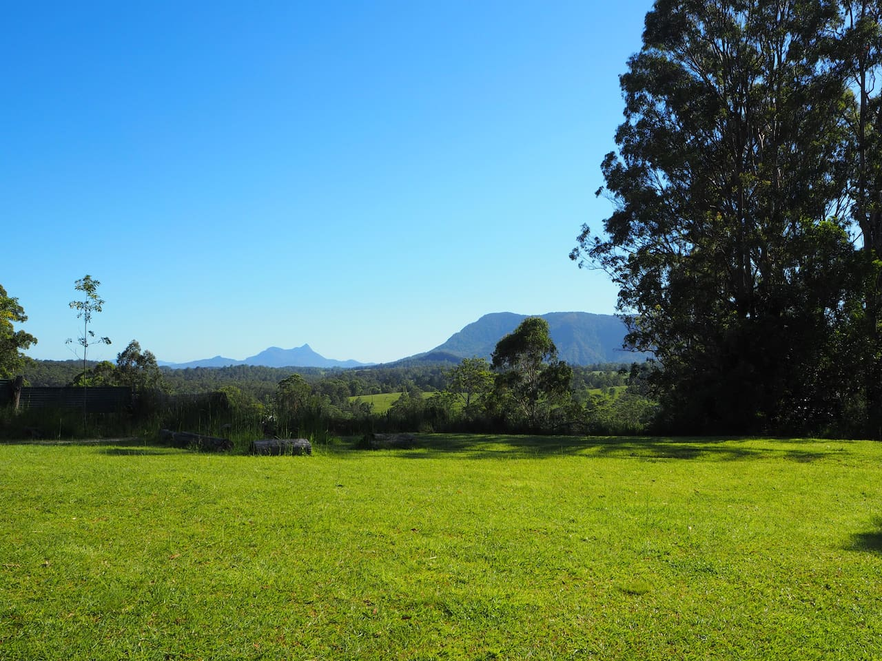 World Heritage-listed Wollumbin National Park Mount Warning vista from Cabin