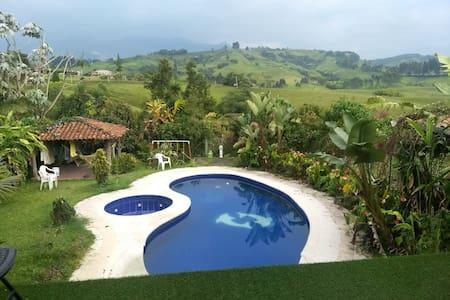 La mejor vista de Santa Rosa De Cabal