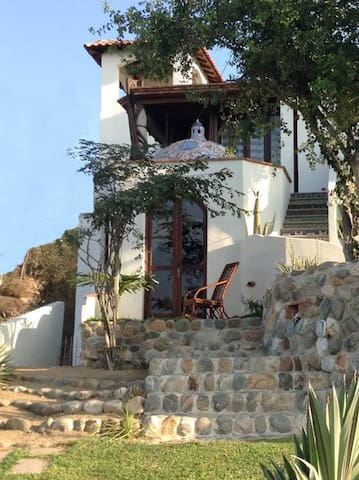 Flamboyan apartment with beautiful sea view - Oaxaca - Pis