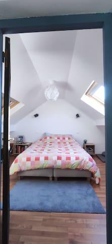 Chb à l'étage - version grand lit