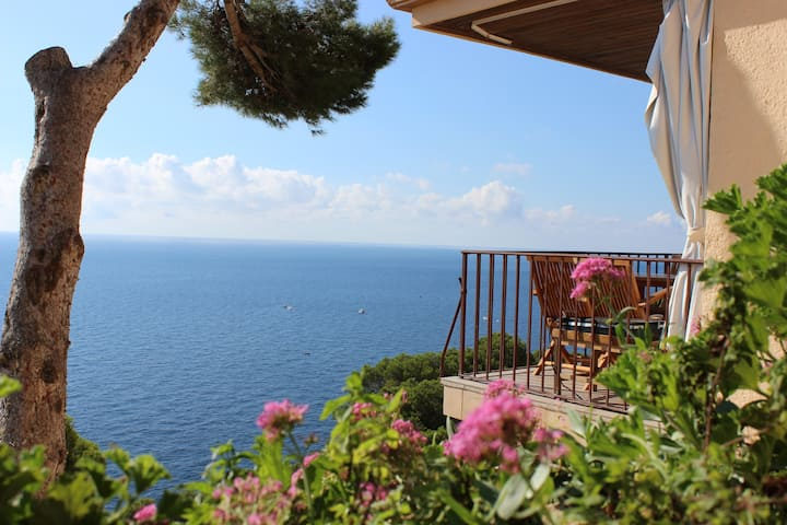 Amazing sea view Luxury Apartment LLAFRANC