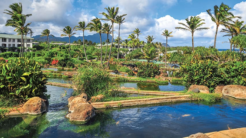 Point at Poipu- 2 bedroom garden view