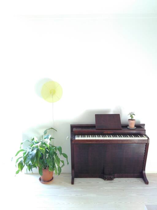 Piano designed by famous danish designer P.H