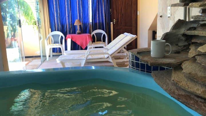 Master Suite com piscina Praia Sitio do Conde