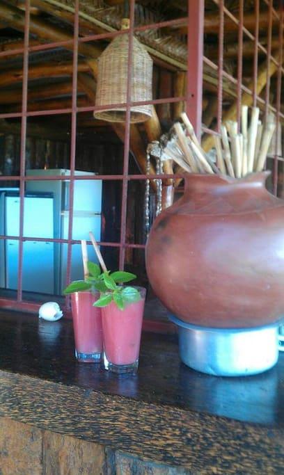 Juice and eco straws