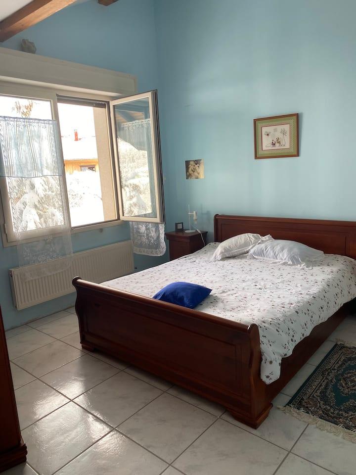 Chambre en résidence privée «Ciel»