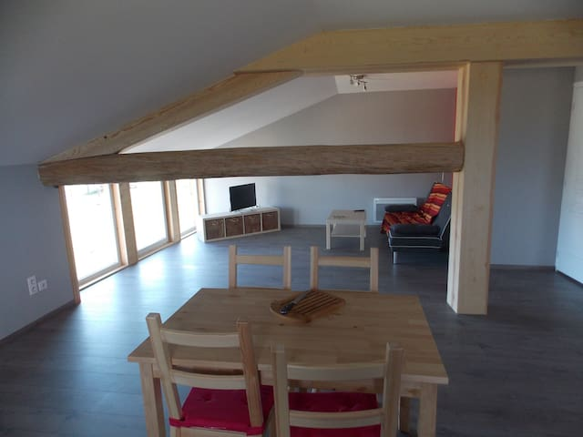 APPARTEMENT A LA CAMPAGNE - Sauvessanges - Apartament