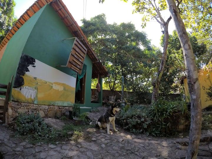 (Villa Rústica) Chalé Jabuticaba