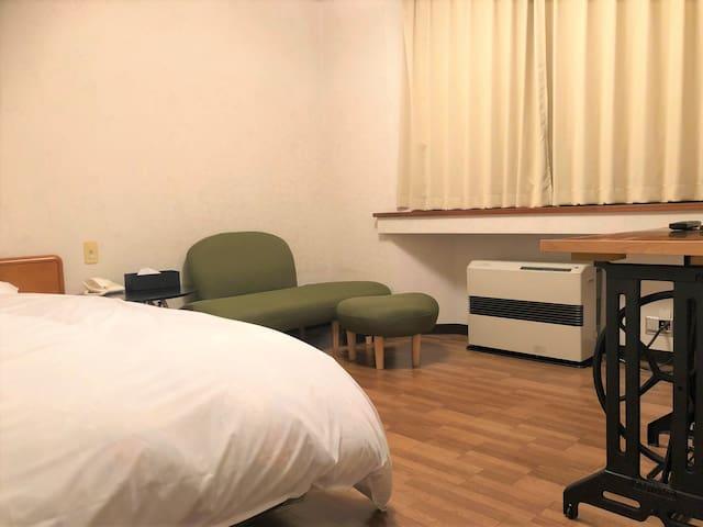 奥入瀬温泉 灯と楓 洋室 シンプルステイ 素泊りプラン シングルルーム