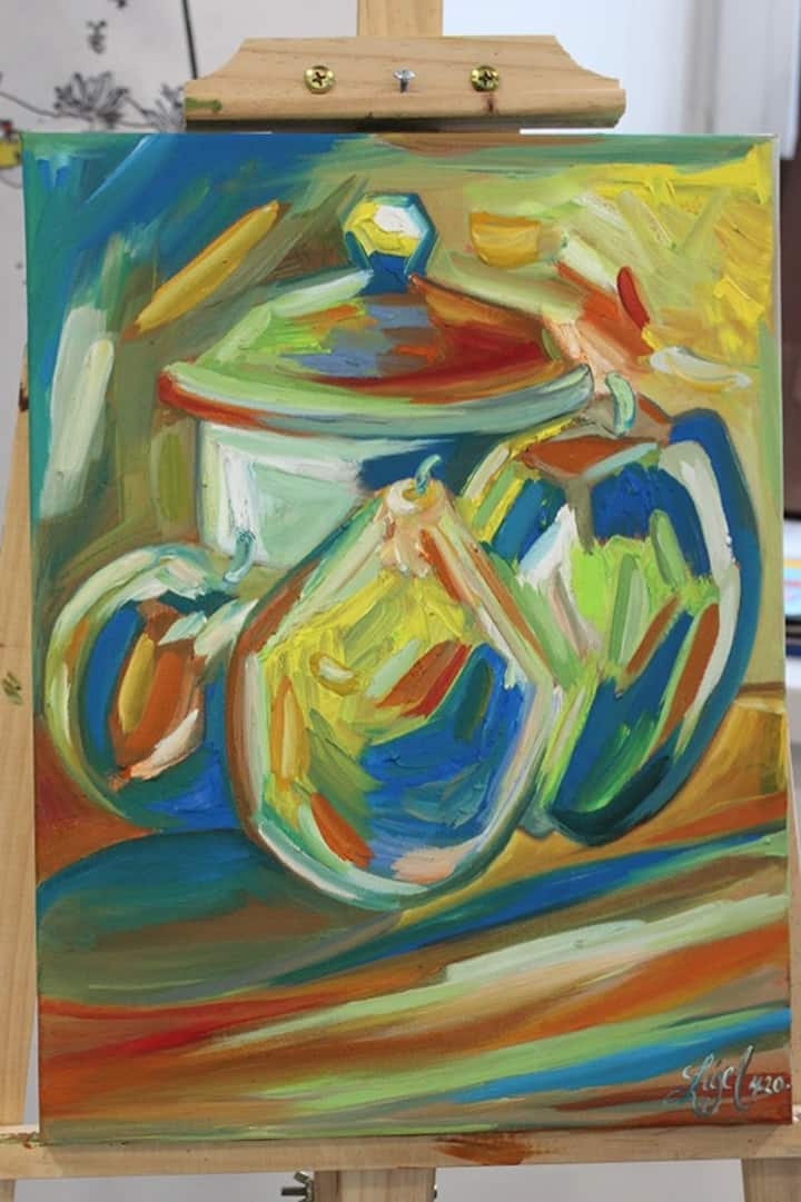 Example of a Fauvist Style Painting