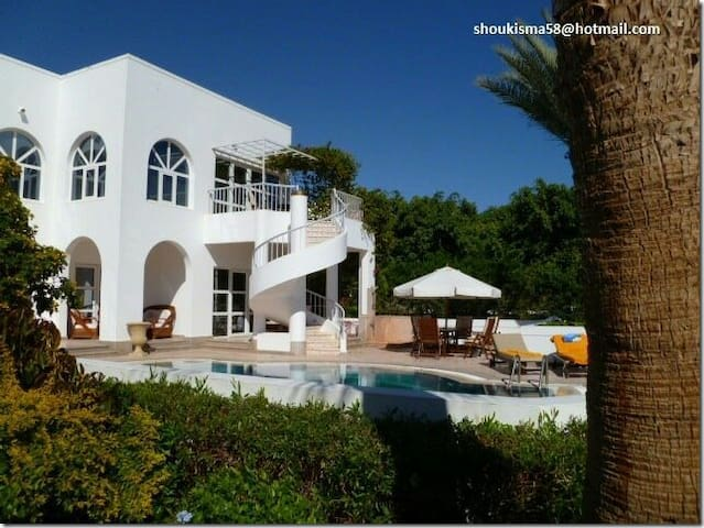Luxurious villa with private pool. - South Sinai Governorate - House