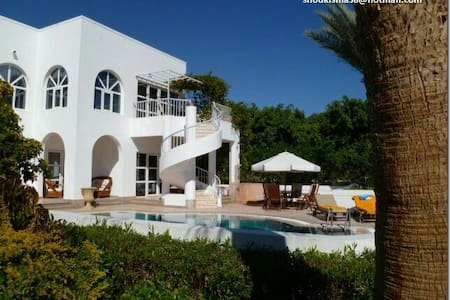 Luxurious villa with private pool.