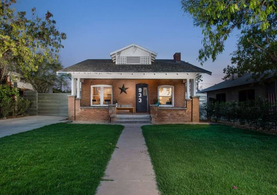 Beautiful Brick Bungalow In Downtown Phoenix Bungalows For Rent In Phoenix Arizona United States