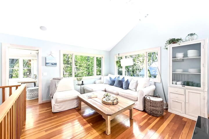 Plan your next Hamptons getaway at our 3-bedroom cottage in Sag Harbor, just steps from sunny Long Beach.
