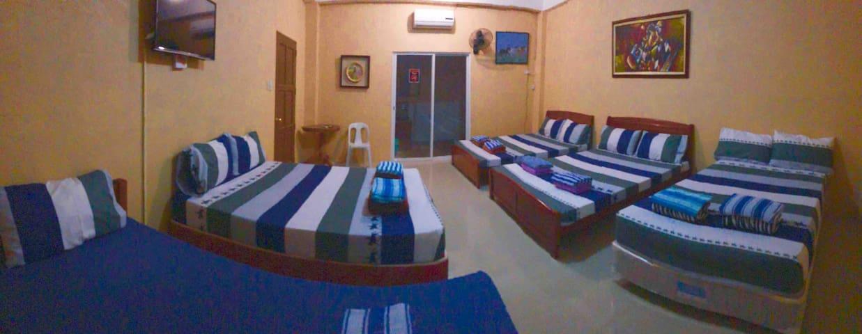 Room for 9 person.  4,200 per night.