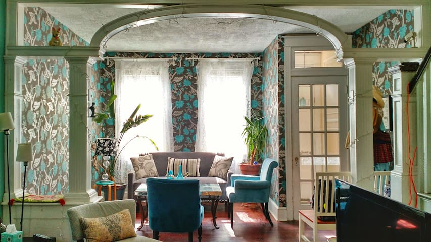 Bright, beautiful room by Temple University.