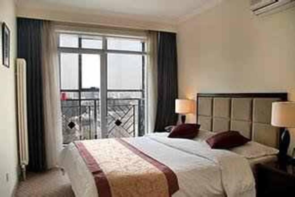 床型可选双或大床 所有房间均为酒店提供