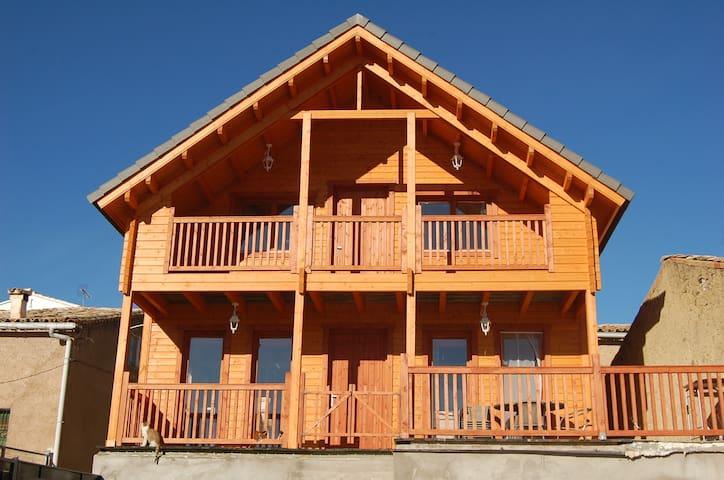 Casa de madera en Zarzuela