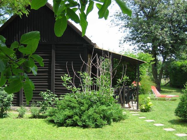 Romantisches Ferienhaus - Balatonkeresztúr - Houten huisje