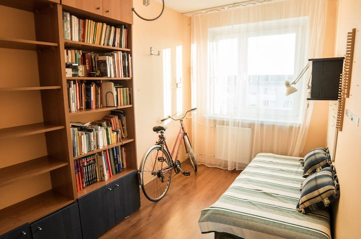 Cosy apartment in the suburbs - Łódź - Huoneisto