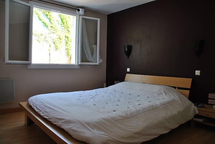 chambres dans T5, terrasse, centre ville à 5 min. - Cahors - Apartamento