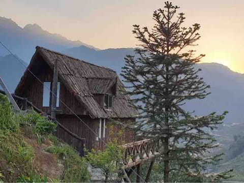 Bungalow with a beautiful view of Sapa