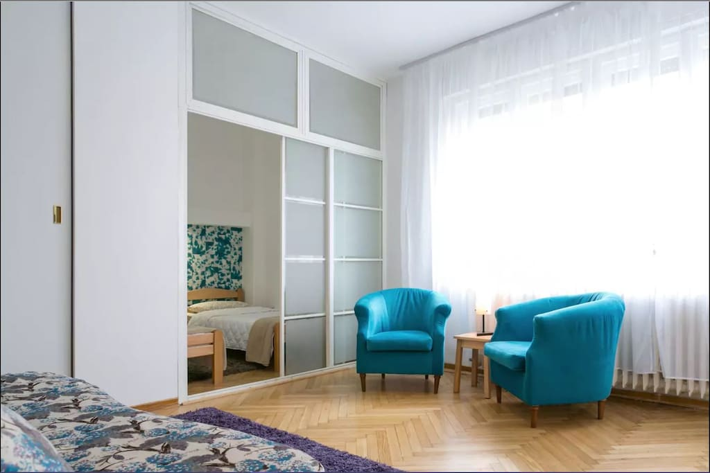 A view towards bedroom