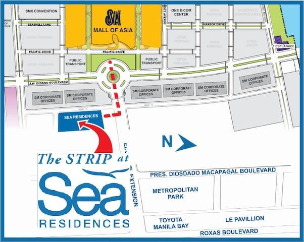 SEA Residences Condo MOA PASAY near Airport - Pasay