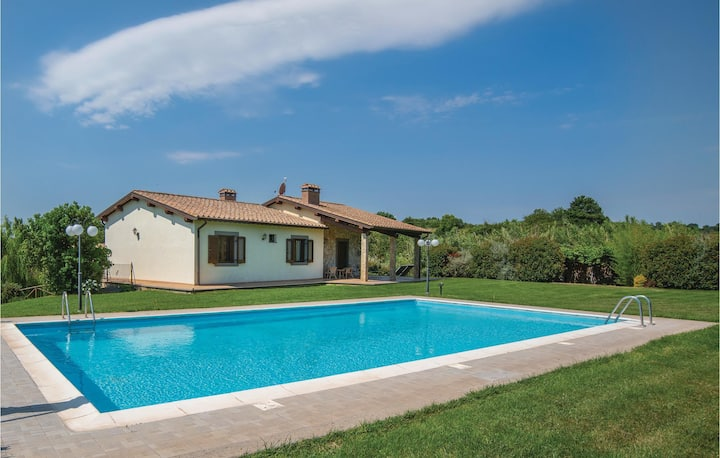Nice home in Piansano VT with WiFi and 3 Bedrooms
