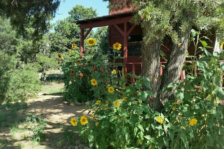 Santa fe Country Cabin, private, 15 min to Plaza - Kabin
