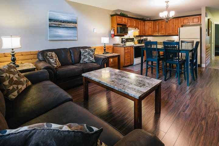 Mountain View + Riverside Two Bedroom Condo